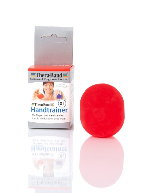 Theraband, Handtrainer XL, soft, rot